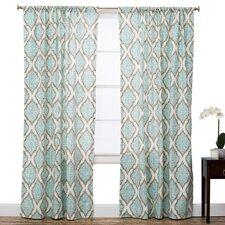 Charleston Curtain Single Panel