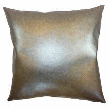 Kamden Vinyl Throw Pillow