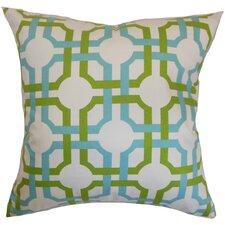 Aebba Tile Cotton Throw Pillow
