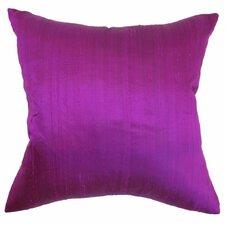 Ekati Plain Silk Throw Pillow