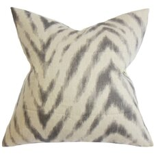 Quay Zigzag Linen Throw Pillow