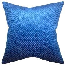 Brielle Solid Velvet Throw Pillow