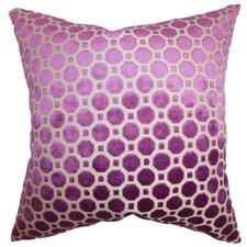 Kostya Geometric Feather Filled Throw Pillow