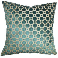 Kostya Geometric Feather Filled Throw Pillow