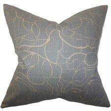 Eames Floral Cotton Throw Pillow
