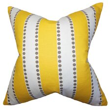 Odienne Stripe Cotton Throw Pillow