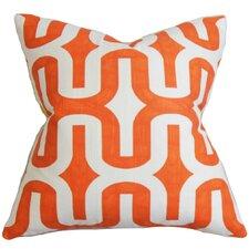 Jaslene Geometric Cotton Throw Pillow