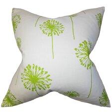 Dandelion Cotton Throw Pillow