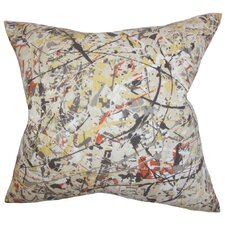 Geneen Geometric Cotton Throw Pillow
