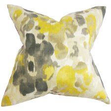 Delyne Cotton Throw Pillow