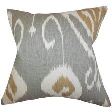 Cleon Ikat Throw Pillow