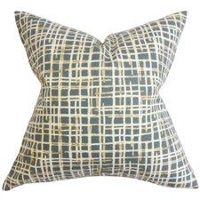 Onslow Plaid Cotton Throw Pillow