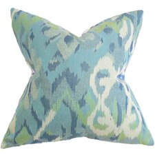 Farrar Ikat Throw Pillow