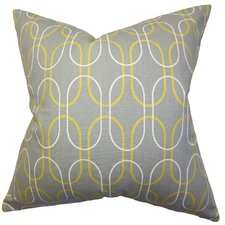 Ickitt Geometric Cotton Throw Pillow