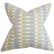 Malus Geometric Cotton Throw Pillow