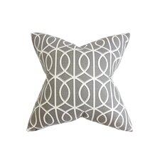 Lior Geometric Cotton Throw Pillow