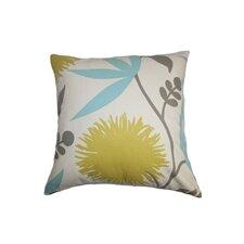 Huberta Floral Cotton Throw Pillow