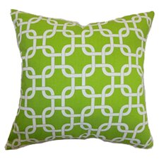 Qishn Geometric Cotton Throw Pillow