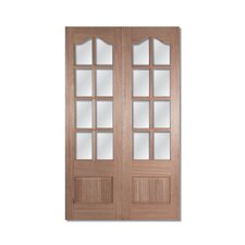 Wood Glazed Internal Door (Set of 2)