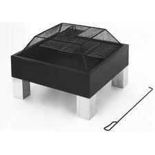 55 cm Laredo Holzkohlegrill mit Grillfunktion, Standbeinen und Schürhaken
