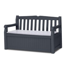 2-Sitzer Gartenbank aus Kunststoff