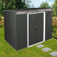 2,6 m x 1,9 m Gerätehaus Pent Roof Skylight