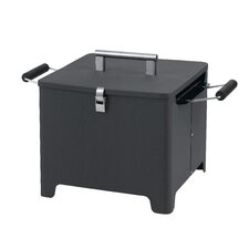 31,5 cm Chill and Grill tragbarer Holzkohlegrill mit Deckel