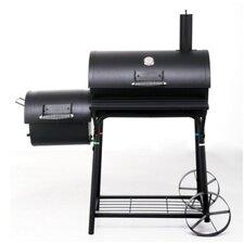 91 cm Smoker Holzkohlegrill Biloxi mit Brennkammer