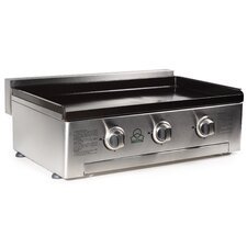 Gas 3 Burner Plancha BBQ