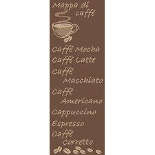 Teppich Country Kaffee in Braun