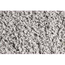 Teppich Shaggy Uni in Silber
