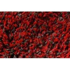 Teppich Shaggy Premium in Rot