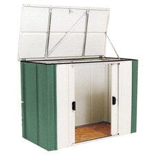 Gartenbox aus Metall