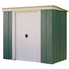 6 x 4 Metal Lean-To Shed