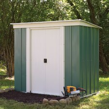 8 x 4 Metal Lean-To Shed