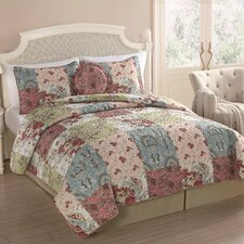 Gridley 5 Piece Quilt Set