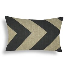 Chevron Cotton Lumbar Pillow