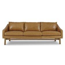 Dutch Leather Reclining Sofa