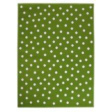 Teppich Dots in Grün