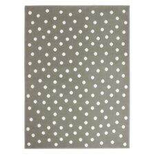 Teppich Dots in Grau
