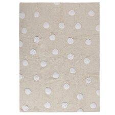Handgetufteter Teppich Topos in Grau