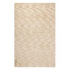 Handgetufteter Teppich Ritika in Beige