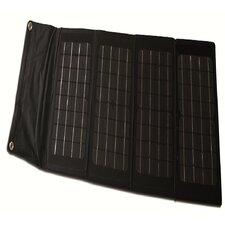 40-Watt Folding Monocrystalline Solar Panel Charger