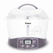 3.4-Quart Electric Multi-Stew Cooker/Steamer Pot
