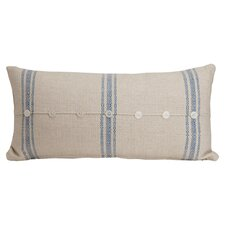Hampton Classic Large Skinny Cotton Lumbar Pillow