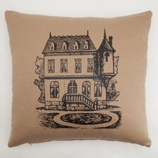 House Down Throw Pillow