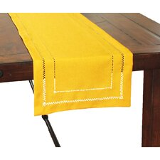 Handmade Double Hemstitch Easy Care Table Runner