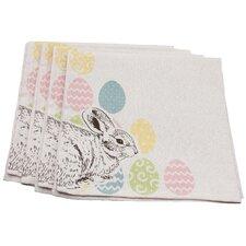 Bunny Eggs Printed Easter Napkin