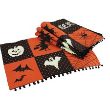 Halloween Patchwork Placemat (Set of 4)