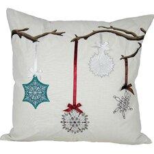 Limb Ornament Accents Throw Pillow
